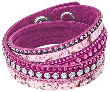 Swarovski Swarovski Slake Print Bracelet, Multi-colored Light Multi Stainless Steel