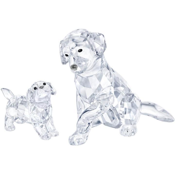 Swarovski Labrador Family Online Set