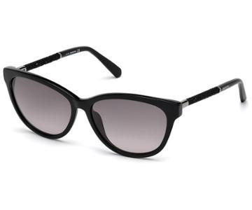 Swarovski Swarovski Swarovski Sunglasses, Sk0131 01b, Black