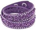 Swarovski Swarovski Slake Purple Dot Bracelet Purple