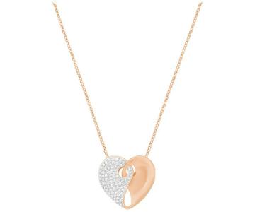 Swarovski Swarovski Guardian Necklace, Medium, White White Rose Gold-plated