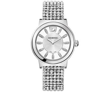 Swarovski Swarovski Piazza Mesh Watch White Stainless Steel