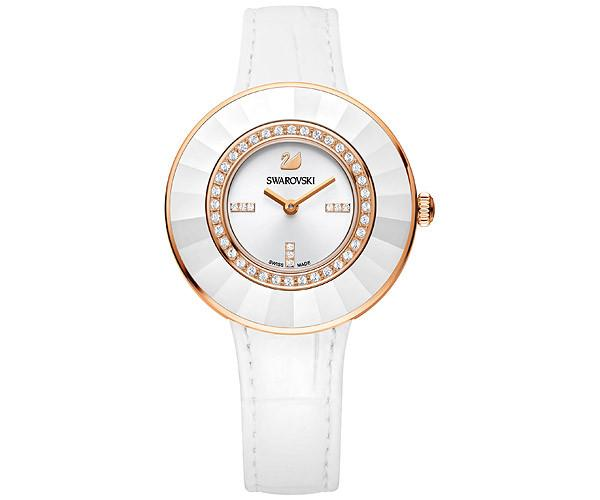 Swarovski Swarovski Octea Dressy White Rose Gold Tone Watch White Rose Gold-plated