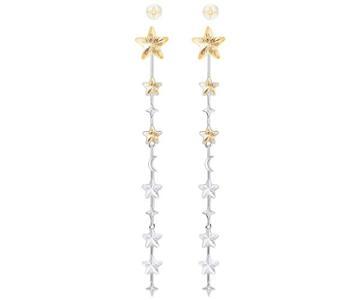 Swarovski Swarovski History Pierced Earrings, Multi-colored, Mixed Plating Light Multi