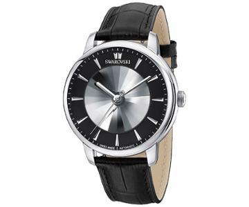 Swarovski Swarovski Atlantis Limited Edition Automatic Men's Watch, Black Gray Stainless Steel