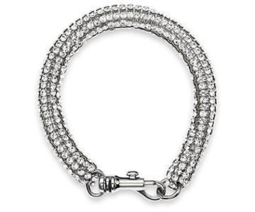 Swarovski Swarovski Skinny Single Bolster Bracelet, Palladium Plating White Rhodium-plated