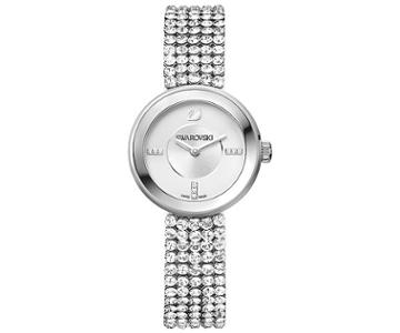 Swarovski Swarovski Piazza Mini Mesh Watch White Stainless Steel