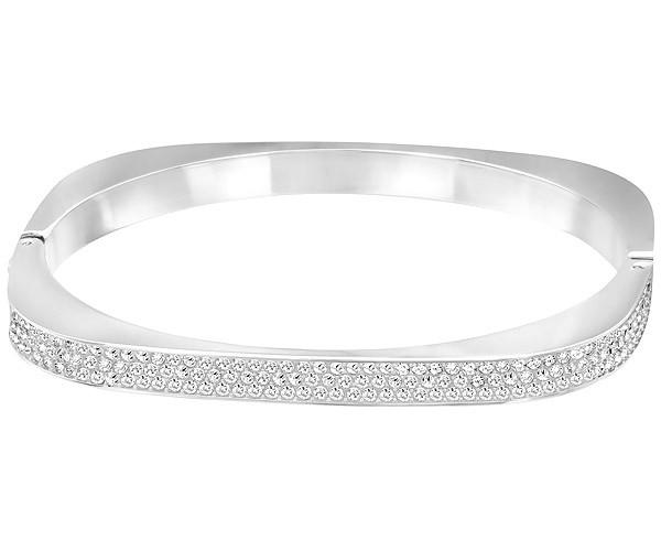 Swarovski Swarovski Vio Bangle White Rhodium-plated