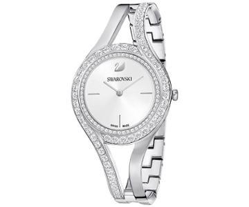 Swarovski Swarovski Eternal Watch, Metal Bracelet, White, Silver Tone White Stainless Steel