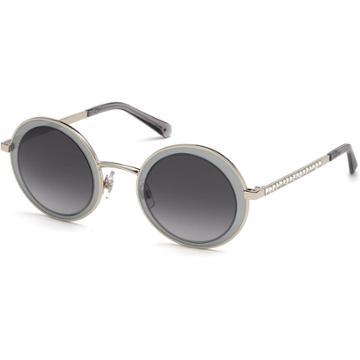 Swarovski Moselle Mask Sunglasses, Sk0199-16b, Gray