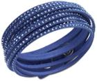 Swarovski Swarovski Slake Dark Blue Bracelet White