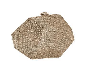 Swarovski Swarovski Marina Bag, Gold Plating Brown
