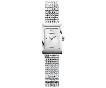 Swarovski Swarovski Memories Watch, Silver Tone White Stainless Steel