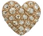 Swarovski Swarovski Heart Gold Charm Pop  Rose Gold-plated