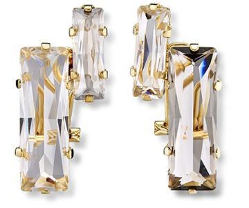 Swarovski Swarovski Atelier Swarovski Core Collection, Nile Pierced Earrings White Gold-plated