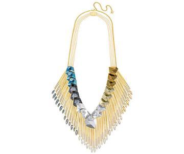 Swarovski Swarovski Guilty Necklace, Multi-colored Light Multi Gold-plated