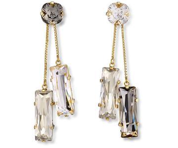 Swarovski Swarovski Atelier Swarovski Core Collection, Nile Detachable Pierced Earrings White Gold-plated