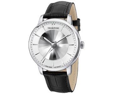 Swarovski Swarovski Atlantis Limited Edition Automatic Men's Watch, Black White Stainless Steel