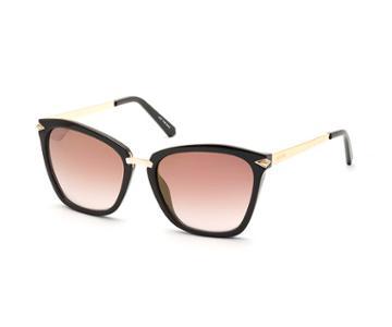 Swarovski Swarovski Swarovski Sunglasses, Sk0152 48g, Brown