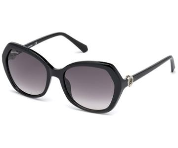 Swarovski Swarovski Swarovski Sunglasses, Sk0165 - 01b, Black