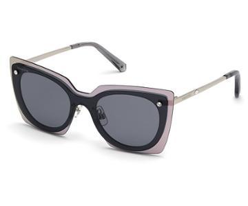 Swarovski Swarovski Swarovski Sunglasses, Sk0201-16a, Gray