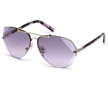 Swarovski Swarovski Swarovski Sunglasses, Sk0134 28z, Purple