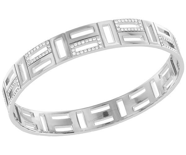 Swarovski Swarovski Cubist Bangle White Rhodium-plated