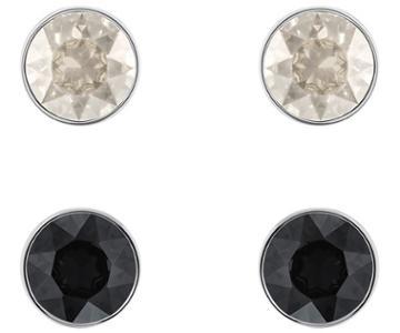 Swarovski Swarovski Madyson Pierced Earring Set, Gray, Mixed Plating Gray