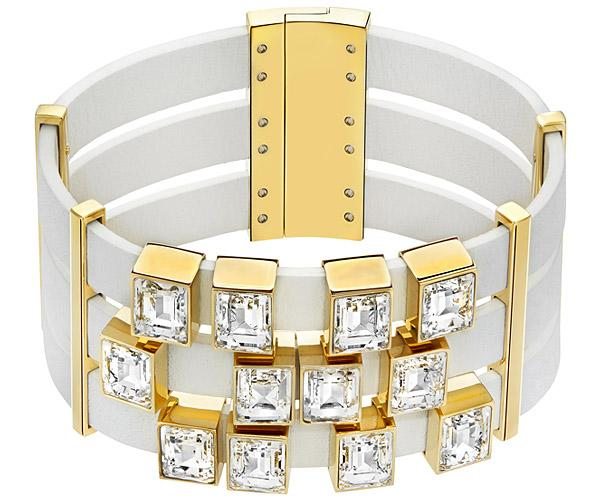 Swarovski Swarovski Element White Bracelet White Gold-plated