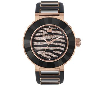 Swarovski Swarovski Octea Sport Zebra Rose Gold Tone Watch Pink Rose Gold-plated