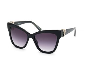 Swarovski Swarovski Swarovski Sunglasses, Sk0157 01b, Black