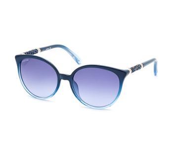 Swarovski Swarovski Swarovski Sunglasses, Sk0149 90w, Blue