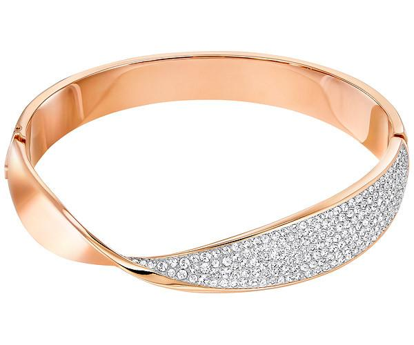 Swarovski Swarovski Freedom Bangle White Rose Gold-plated