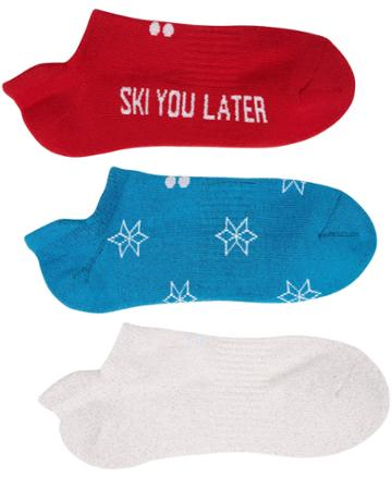 Sweaty Betty Christmas Trainer Liners 3 Pack