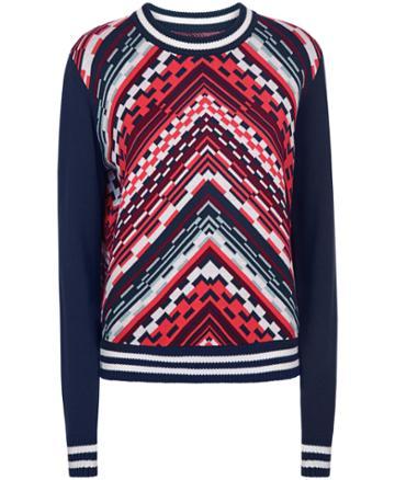 Sweaty Betty Brixton Chevron Knitted Sweater