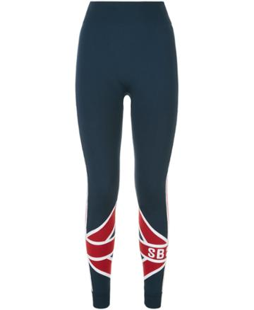 Sweaty Betty Union Jack Ski Seamless Base Layer Leggings