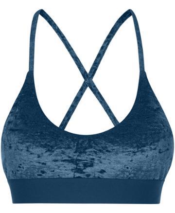 Sweaty Betty Volley Velvet Swim Bikini Top