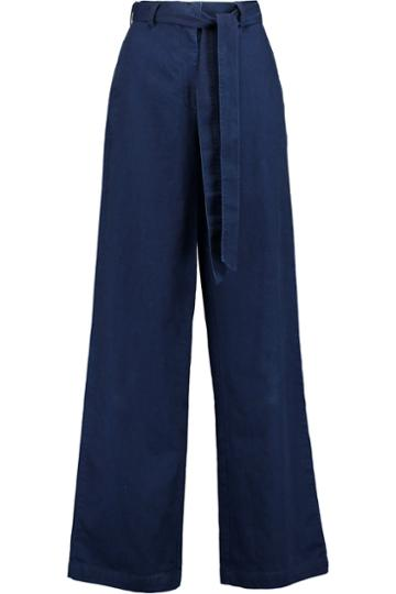Iris And Ink High-rise Wide-leg Pants