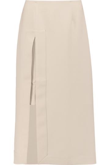 Iris And Ink Crepe Midi Skirt