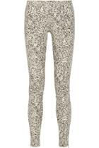 Suno Printed Cotton-blend Skinny Pants