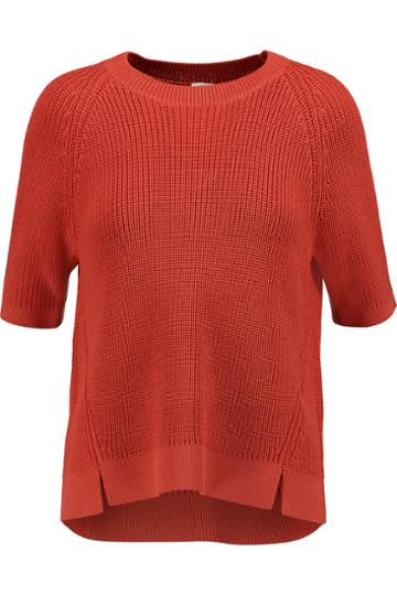 Iris And Ink Ribbed-knit Sweater