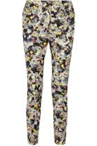 Erdem Sullivans Printed Twill Skinny Pants
