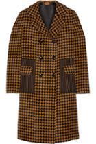 Missoni Houndstooth Wool-blend Coat