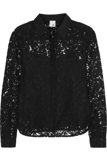 Iris & Ink Camille Lace Shirt