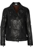 Haute Hippie Leather Biker Jacket