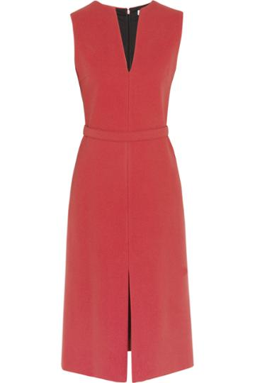 Victoria, Victoria Beckham Wool-blend Twill Dress