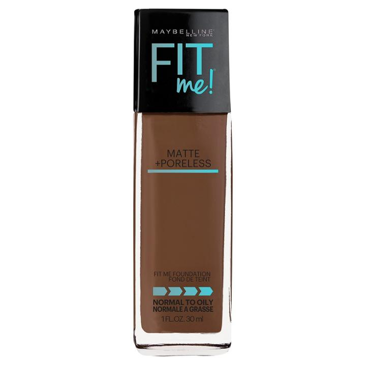 Maybelline Fitme Matte + Poreless Foundation 362 Truffle