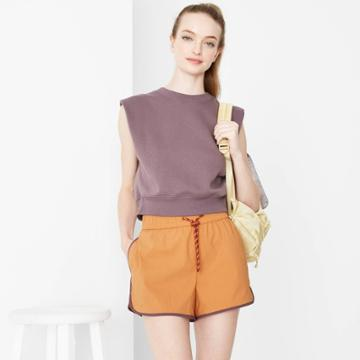 Women's Woven Dolphin Shorts - Wild Fable Brown