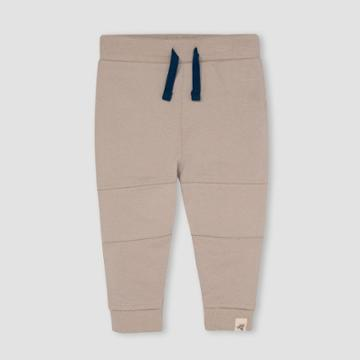 Burt's Bees Baby Baby Boys' French Terry Jogger Pants - Light Taupe