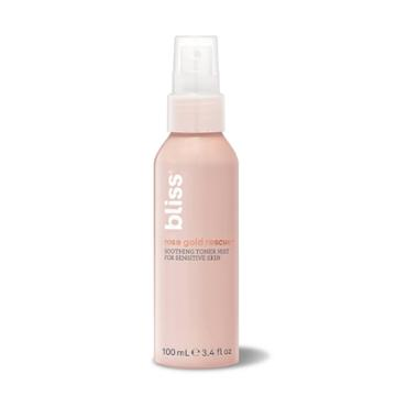 Bliss Rose Gold Rescue Soothing Toner Mist